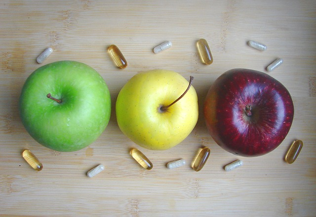 jablka, tabletky