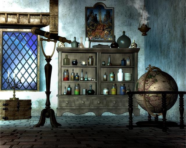 prostor kouzelníka
