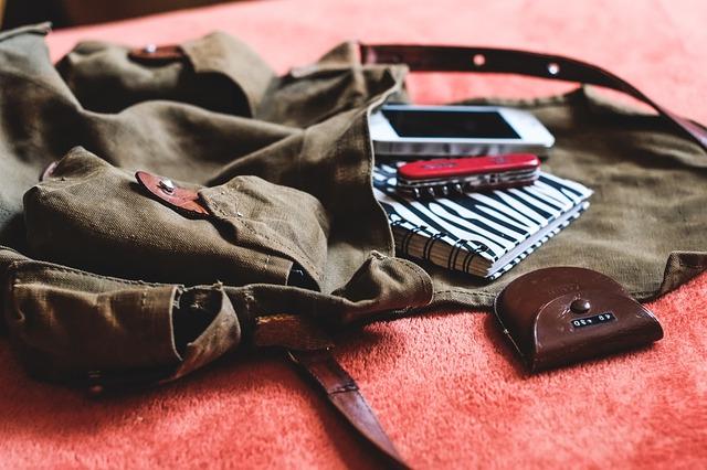 věci v batohu