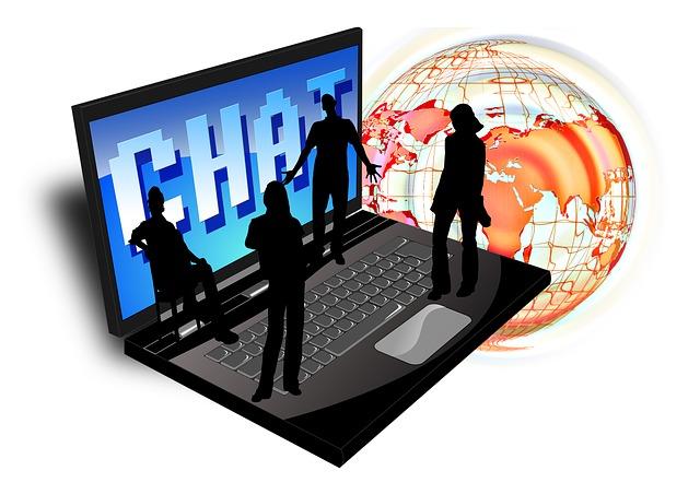 Komunikace s lidmi on-line