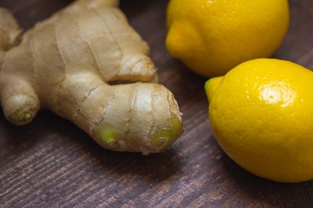 zázvor a citróny