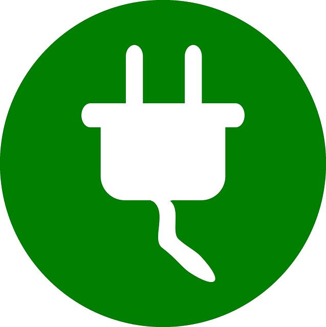 zástrčka – ikona