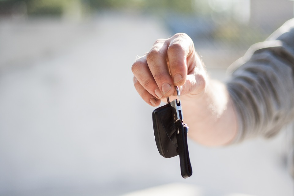 půjčení klíčů